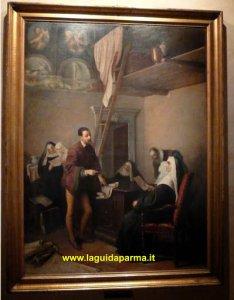 Camera San Paolo Parma Correggio and the abbess
