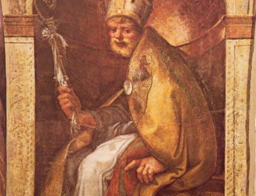 Saint Hilary patron saint of Parma