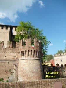 Fontanellato Rocca Sanvitale torre con camera ottica