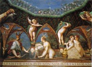 Parmigianino Fontanellato Diana e Atteone