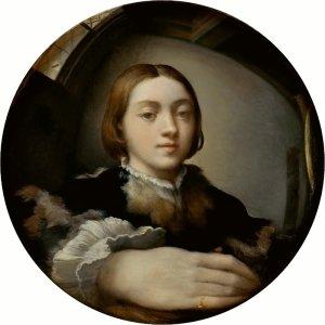 Parmigianino autoritratto