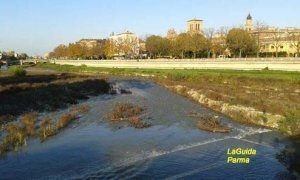 Torrente Parma in autunno