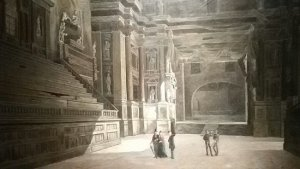 on a tour to Parma teatro Farnese