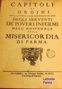 Ospedale Vecchio Parma capitoli