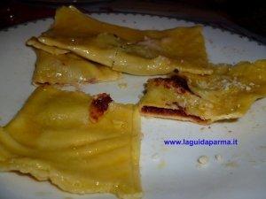 Tortelli di zucca Liliana style