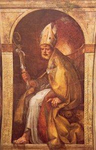 Parma, Monastero San Giovanni Evangelista, S. Ilario, Parmigianino