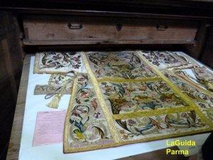 Steccata Parma paramenti liturgici