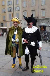 dott. Balanzone e Dsevod a Parma