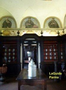 Spezieria Parma sala dei mortai