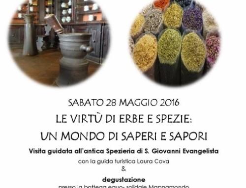 Visita guidata alla Spezieria di San Giovanni Evangelista e degustazione
