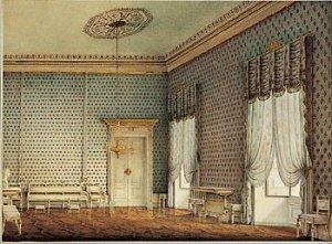 Palazzo Ducale Parma sala del Principe Naudin 1830 circa