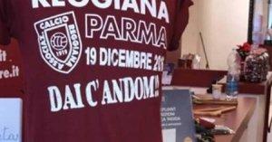 Maglietta celebrativa derby Reggiana-Parma