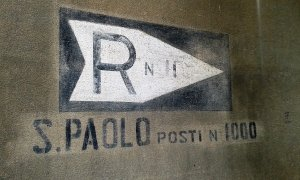 seconda guerra mondiale a Parma indicazione rifugio antiaereo monastero San Paolo