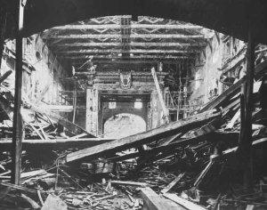 seconda guerra mondiale a Parma teatro Farnese dopo le bombe