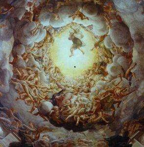 on a tour to Parma - Correggio's cupola