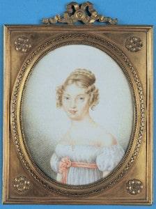 Albertina figlia di Maria Luigia duchessa di Parma
