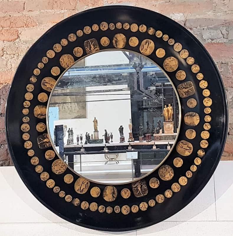 visita alla mostra Fornasetti in Pilotta Parma sala del Trionfo