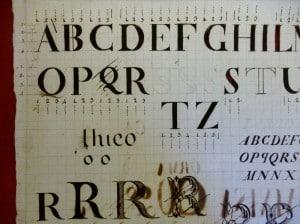 Bodoni studio di lettere