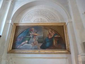 Annunciazione di Correggio copia